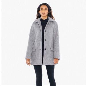 American apparel Audrey wool coat  Sz M